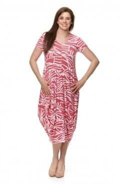Sahara Clothing MOZAMBIQUE JERSEY BUBBLE DRESS