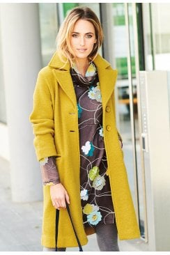 Adini CLAUDIA COAT FERRARA WOOL KNIT