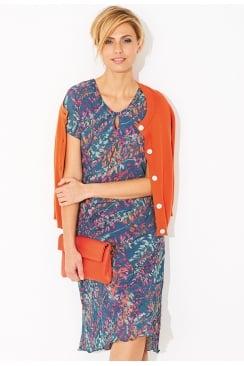 ADA LUPIN PRINT DRESS