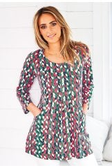ASHLEY TUNIC SEVILLE PRINT