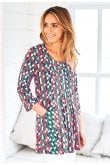 Adini ASHLEY TUNIC SEVILLE PRINT
