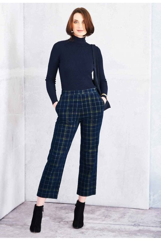 Adini BROOKE TROUSERS HIGHLAND CHECK