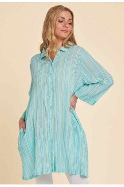 CAITLIN TUNIC WHITSABLE STRIPE
