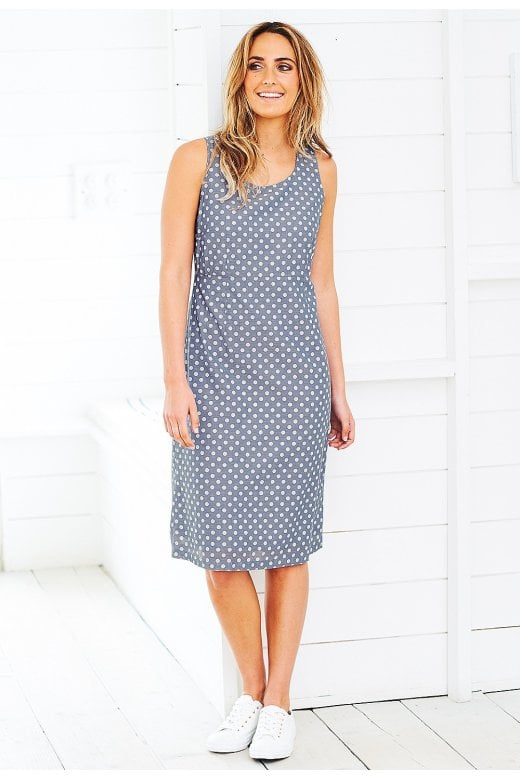 Adini CAREY DRESS STARBOARD SPOT