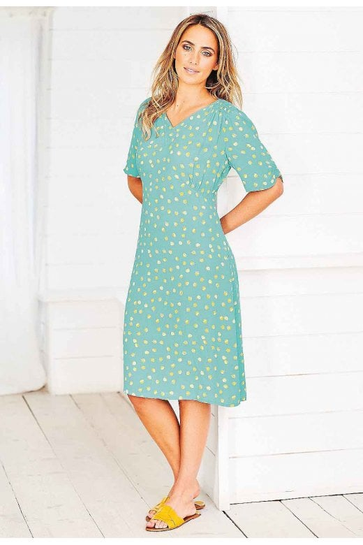 Adini CITRUS DRESS CITRUS SPOT PRINT