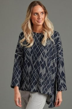 CLARE TUNIC ETCH WEAVE