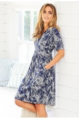 COURTNEY DRESS PETULA PRINT