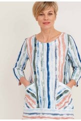 CREST TUNIC WHITBY STRIPE