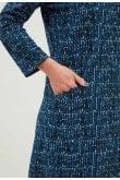 Adini ECHO DRESS RIBBON PRINT