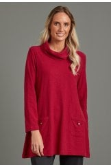 EVE TUNIC SOLID SLUB