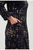 Adini FREYA CITYSCAPE DRESS