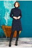 Adini HAILEY DRESS ROSE WEAVE