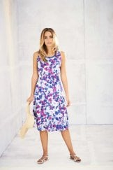 HARRIET DRESS DIVINE PRINT