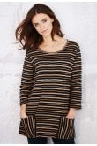 Adini HAVEN TUNIC CAMDEN STRIPE