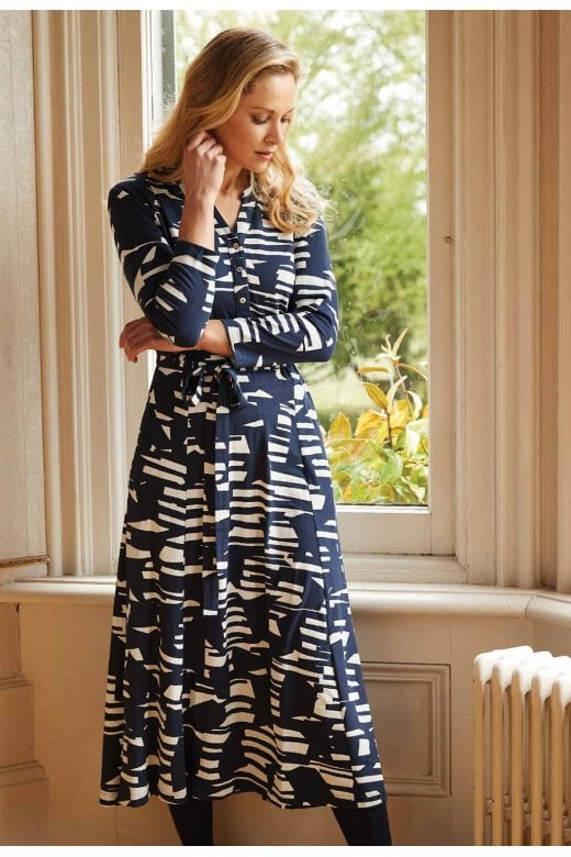 Adini ISABELLA ALBER PRINT DRESS