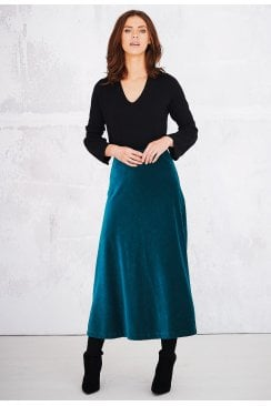 JESSIE SKIRT OPERA VELOUR