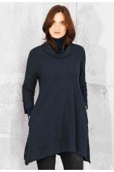 JODIE TUNIC SOLID COTTON SLUB