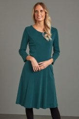 KATHI DRESS COTTON RIB