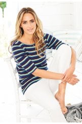 KAYA TOP MARITIME STRIPE