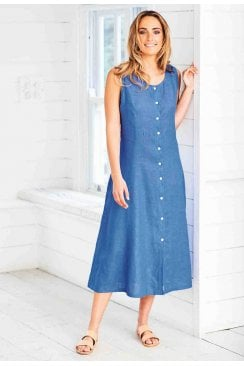 LAGOON DRESS LAGOON LINEN