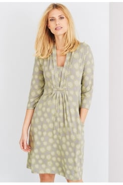 LANA DRESS CLOUD PRINT