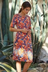 LYDIA DRESS ARUBA PRINT