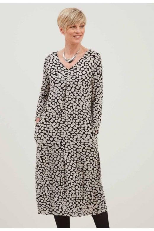 Adini MAIKU PALETTE PRINT DRESS