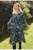 Adini MELISSA SILHOUTTE PRINT DRESS