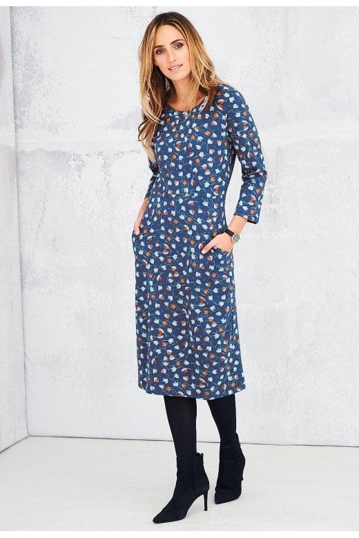 a8f3d91867f Adini MIRA DRESS STELLA PRINT - Adini from Sariska UK
