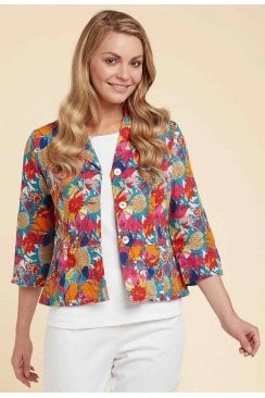 NANCY JACKET TORTUGA PRINT