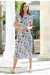 NICOLA DRESS ANGUILLA PRINT