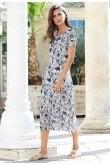 Adini NICOLA DRESS ANGUILLA PRINT