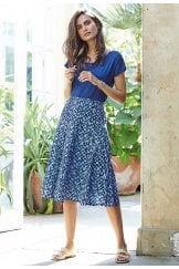 PEGGY SKIRT BRUNEL PRINT