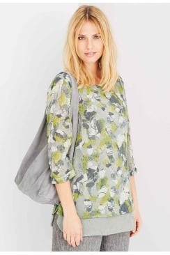 PENELOPE TUNIC ANTIQUE FLOWER