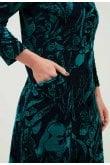 Adini PEONY FLORAL PRINT DRESS