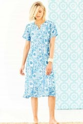 POLLY DRESS CEBU PRINT