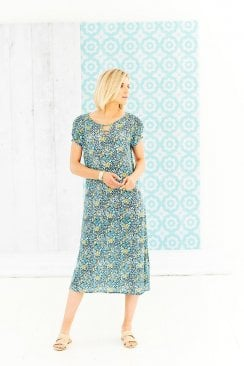RACHEL DRESS SANTIAGO PRINT