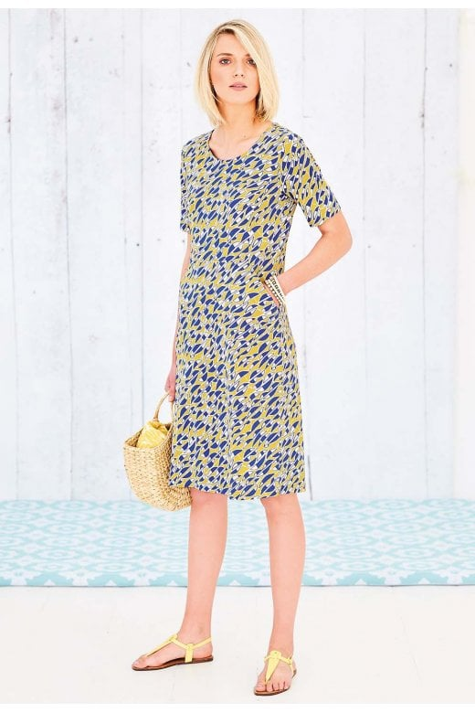 Adini REAGAN DRESS PORTO PRINT