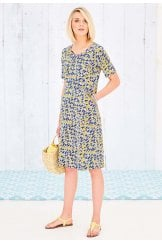 REAGAN DRESS PORTO PRINT