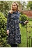 Adini ROBYN DRESS FAROE PRINT