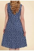 Adini ROXY DRESS BEAUFORT SPOT PRINT