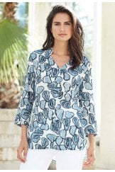 SHANNON TUNIC OASIS PRINT