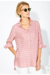 SHELBY TUNIC PERRENPORTH STRIPE