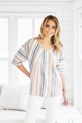 SOPHIE TOP REEVA STRIPE