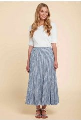 STEPH SKIRT ATLANTIC STRIPE