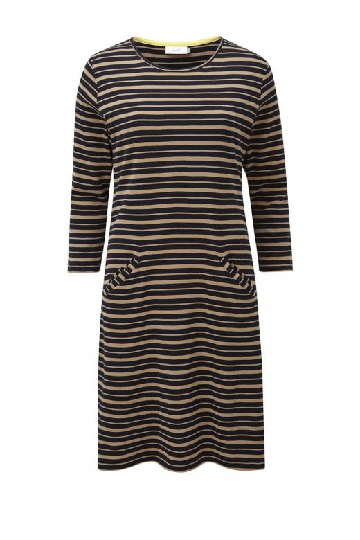 Adini TABITHA DRESS CAMDEN STRIPE