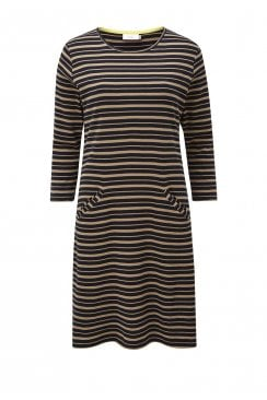TABITHA DRESS CAMDEN STRIPE