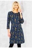 Adini TARA DRESS ROCK WEAVE