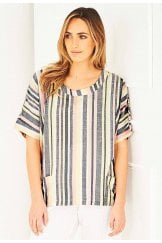 UNA TOP SUNDAE STRIPE