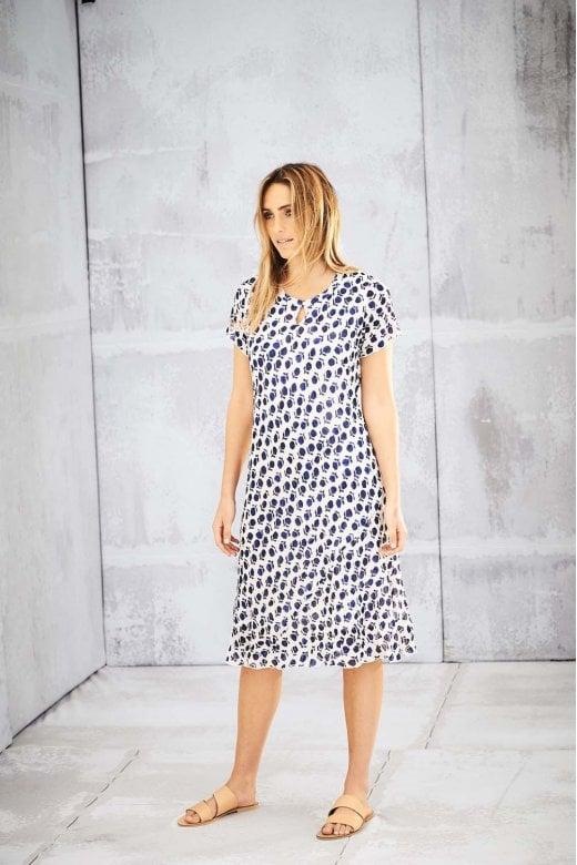Adini VALERIE DRESS AMBER PRINT